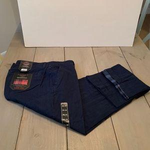 Weatherproof Flannel Lined Pants Men's 36/32 Blue
